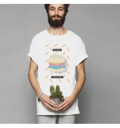 T-SHIRT BURGER - SORT OF LOOSER