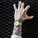 OROLOGIO GOLD METAL -GOLDEN STONE