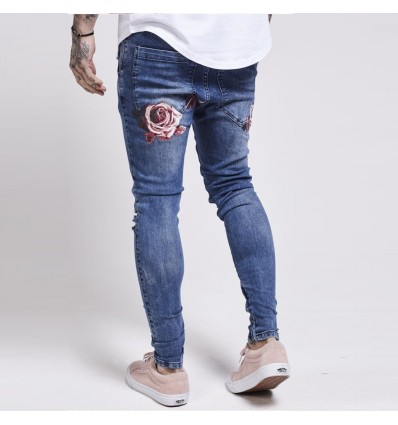 JEANS ROSE - SIK SILK