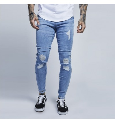 JEANS BLUE WASH - ILLUSIVE LONDON