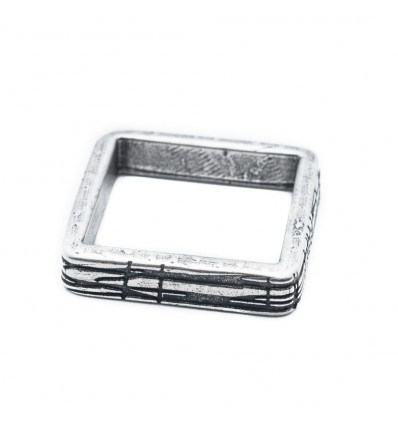 SHAPE SQUARE RING - DOUBLE U FRENK