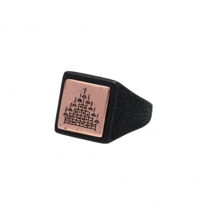 ANELLO LIFE TRIANGLE BLACK - DOUBLE U FRENK