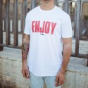 T-SHIRT ENJOY - RECYCLE IDOLS