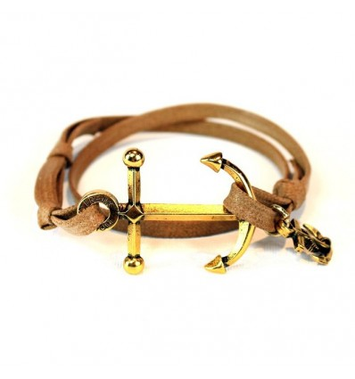 BROWN GOLD ANCHOR - DOUBLE U FRENK