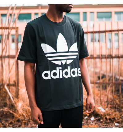 T-SHIRT BOXY BLACK - ADIDAS