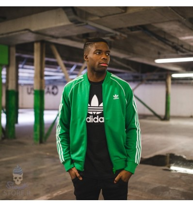 GIACCHETTO SST Track Jacket green - Adidas