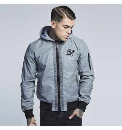 GIACCA WINDBREAKER REFLECTIVE - SIK SILK