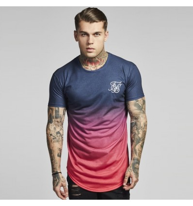 T-SHIRT FADED CURVED - SIK SILK