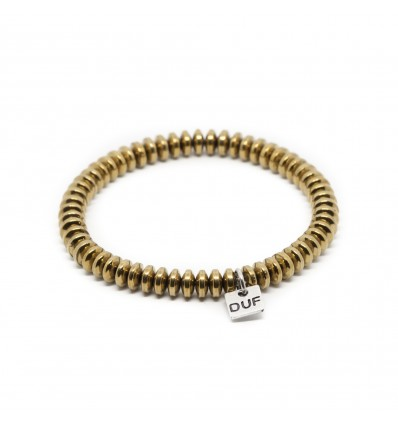 BRACCIALE ELASTIC GOLD - DOUBLE U FRENK