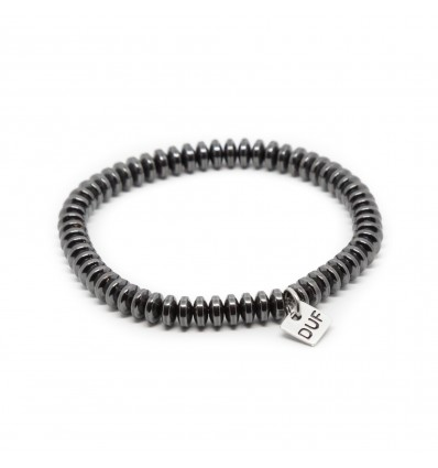 BRACCIALE ELASTIC BLACK - DOUBLE U FRENK