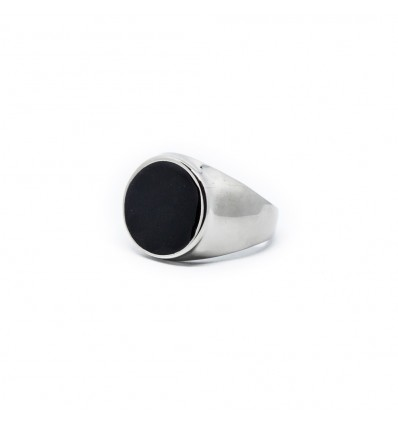 ANELLO GRAPHITE BLACK - DOUBLE U FRENK