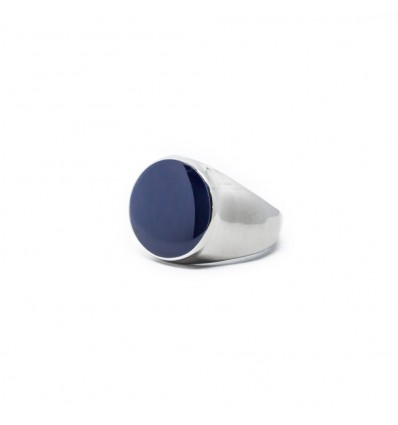 ANELLO GRAPHITE BLUE - DOUBLE u FRENK
