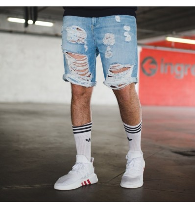 BERMUDA JEANS DESTROYED - BL.11