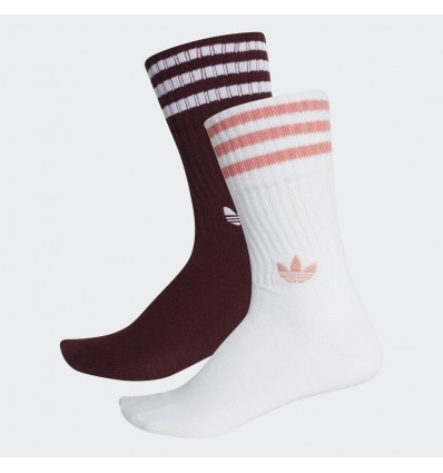 CALZINI SOLID MAROON/RED/WHITE - ADIDAS