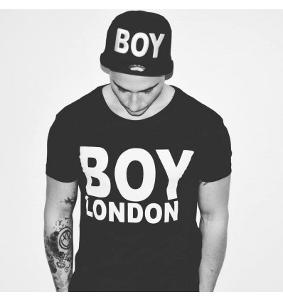 TSHIRT BLACK - BOY LONDON