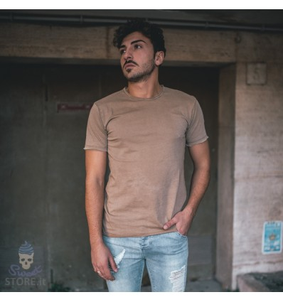 T-SHIRT BASIC KHAKI - BL.11